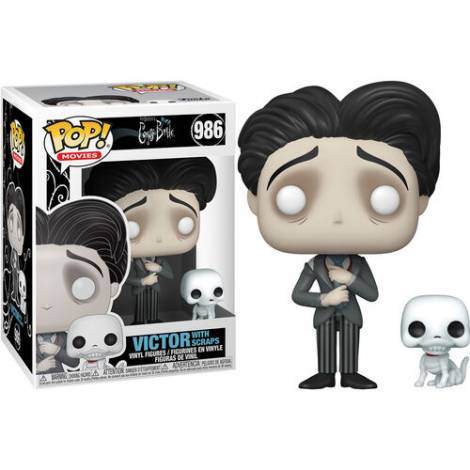 Funko POP! Movies: Corpse Bride - Victor Van Dort #986 Vinyl Figure