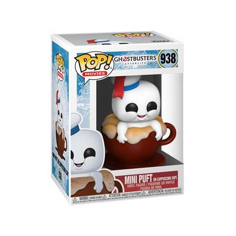 Funko POP! Movies: Ghostbusters: Afterlife - Mini Puft in Cappuccino Cup #938 Vinyl Figure