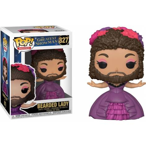 Funko POP! Movies: Greatest Showman - Bearded Lady #827 Vinyl Figure - με χτυπημένο κουτάκι