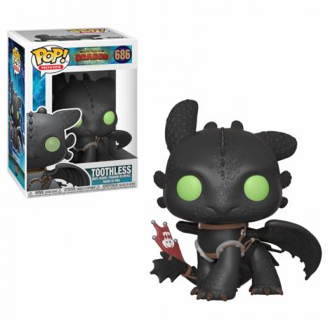Funko Pop! Movies: How to Train Your Dragon 3 - Toothless #686 Vinyl Figure