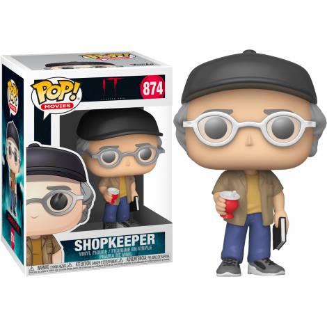 Funko POP! Movies: IT 2 - ShopKeeper (Stephen King) #874 Vinyl Figure - με πιεσμένο κουτάκι