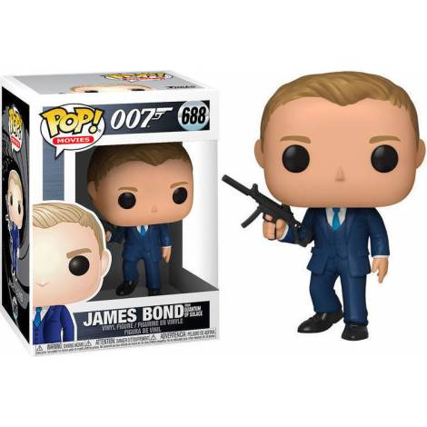Funko POP! Movies: James Bond - Daniel Craig (Quantum of Solace) #688 Vinyl Figure - με χτυπημένο κουτάκι