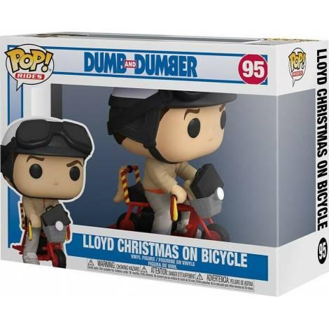 Funko POP! Movies : Lloyd Christmas On Bicycle #95 Vinyl Figure