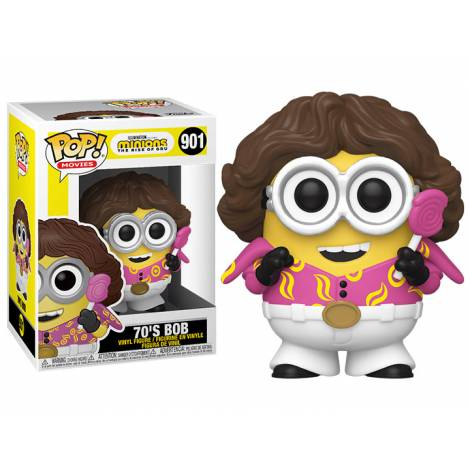 Funko POP! Movies: Minions 2 - 70's Bob #901 Vinyl Figure