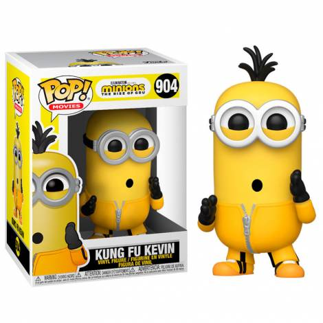 Funko POP! Movies: Minions 2 - Kung Fu Kevin #904 Vinyl Figure