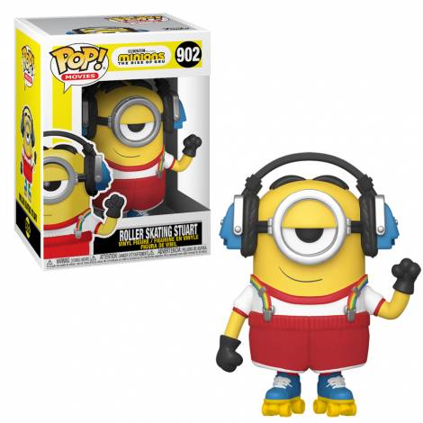 Funko POP! Movies: Minions 2 - Roller Skating Stuart #902 Vinyl Figure