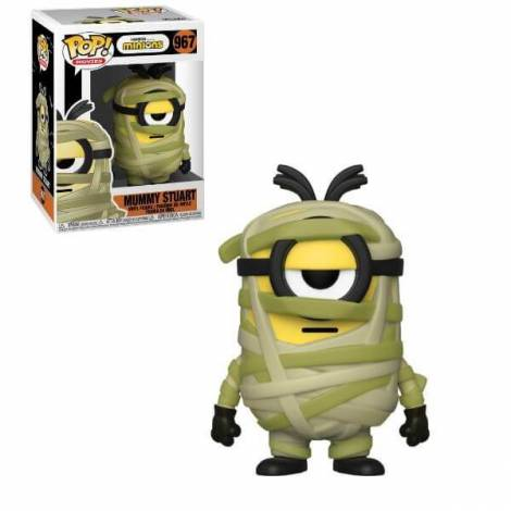 Funko POP! Movies: Minions - Mummy Stuart #967 Vinyl Figure