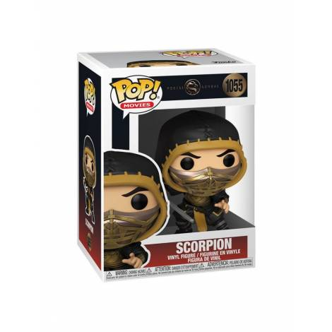 Funko POP! Movies: Mortal Kombat - Scorpion #1055 Vinyl Figure