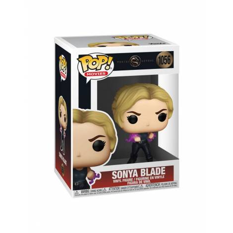 Funko POP! Movies: Mortal Kombat - Sonya Blade #1056 Vinyl Figure