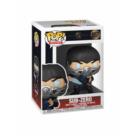 Funko POP! Movies: Mortal Kombat - Sub-Zero #1057 Vinyl Figure