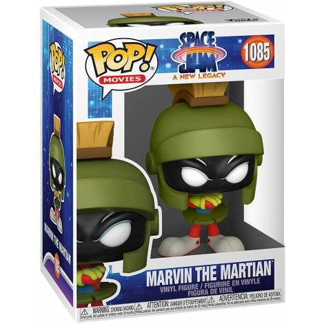 Funko POP! Movies: Space Jam A New Legacy - Marvin the Martian #1085 Vinyl Figure