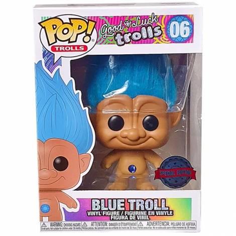 Funko POP! Movies : Trolls - Blue Troll #06 Vinyl Figure (Special Edition)