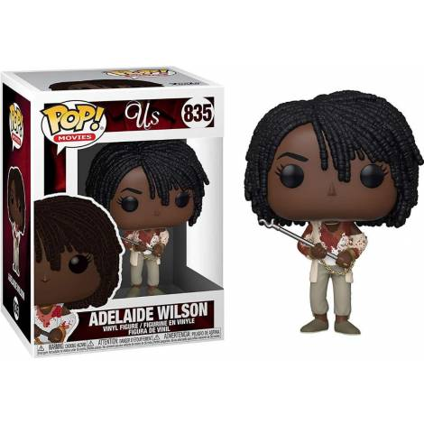 Funko POP! Movies: Us - Adelaide Wilson with Chains & Fire Poker #835 Vinyl Figure