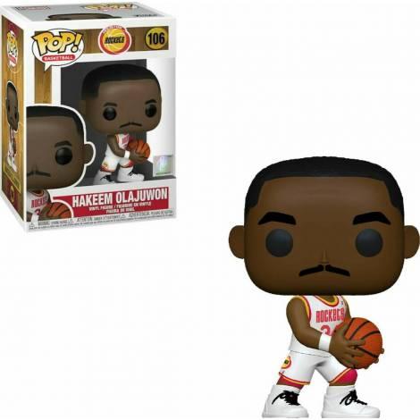 Funko POP! NBA: Legends - Hakeem Olajuwon (Rockets Home) #106 Vinyl Figure - με χτυπημένο κουτάκι