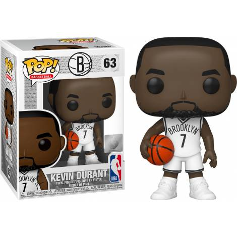 Funko POP! NBA: Nets - Kevin Durant #63 Vinyl Figure