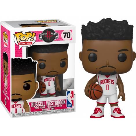 Funko POP! NBA: Rockets-Russell Westbrook #66 Vinyl Figure