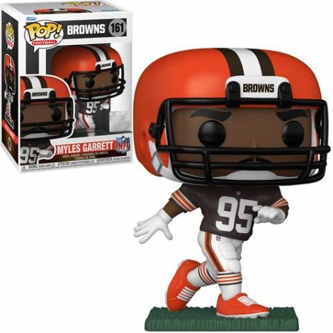 Funko POP! NFL: Browns - Myles Garrett (Home Uniform) #161 Vinyl Figure