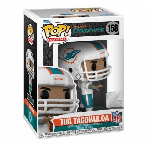 Funko POP! NFL: Dolphins - Tua Tagovailoa (Home Uniform) #158 Vinyl Figure
