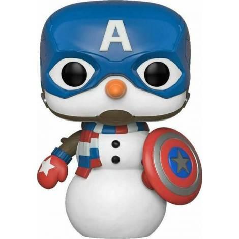 Funko POP! Pen Topper : Marvel Holiday - Captain America Snowman Figurine