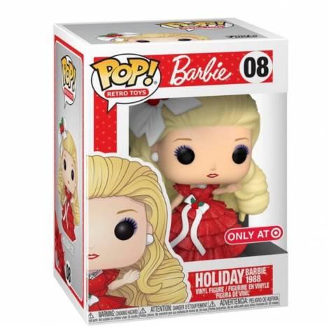Funko POP! Retro Toys : Barbie - Holiday Barbie 1988 (Special Edition) #08 Vinyl Figure