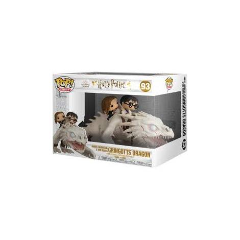 Funko POP! Ride: Harry Potter - Dragon with Harry, Ron, & Hermione #93 Vinyl Figure