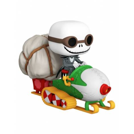 Funko POP! Ride: Nightmare Before Christmas - Jack with Goggles & Snowmobile #104 Vinyl Figure (49146)