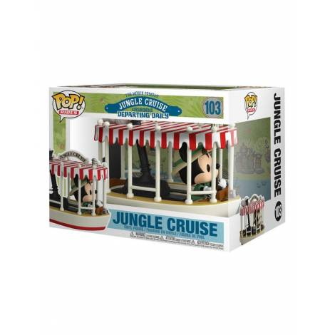 Funko POP! Ride Super Deluxe: Jungle Cruise - Mickey #103 Vinyl Figure