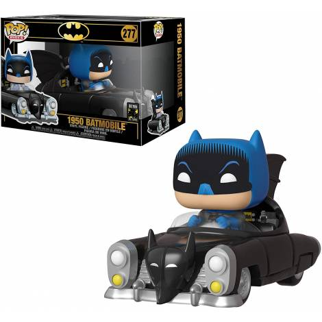 Funko POP! Rides: Batman 80th - Batman with 1950 Batmobil #277 Vinyl Figure