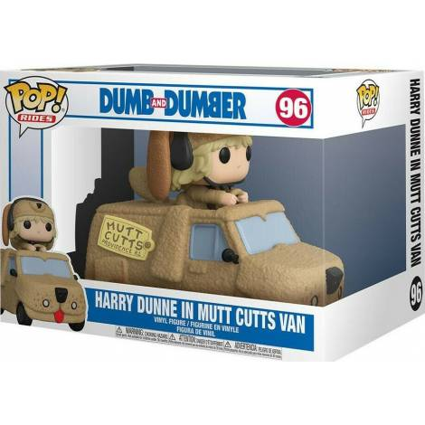 Funko POP! Rides : Dumb & Dumber - Harry Dune In Mutts Cutts Van #96 Vinyl Figure