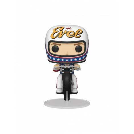 Funko POP! Rides: Evel Knievel on Motorcycle Figure