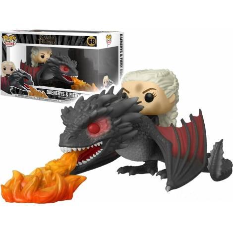 Funko POP! Rides Game of Thrones - Daenerys on Fiery Drogon #68   Vinyl Figure