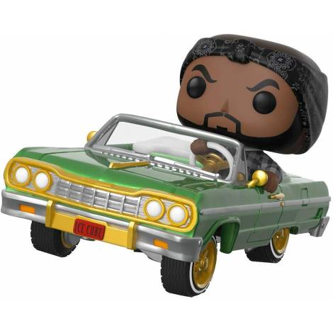 Funko POP! Rides: Ice Cube in Impala #81 Vinyl Figure ( με μικρό ελάττωμα )