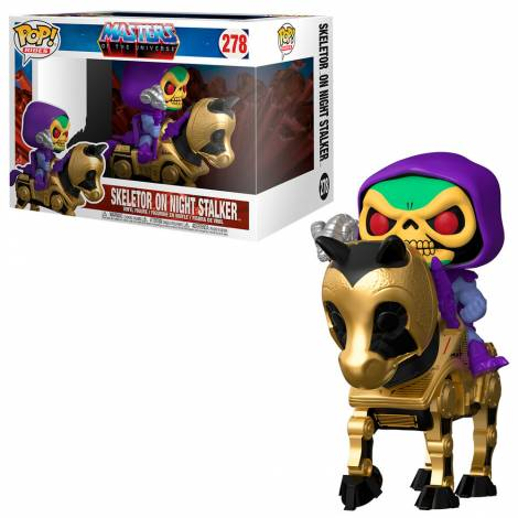 Funko POP Rides: MOTU- Skeletor w/Night Stalker #278 Vinyl Figure