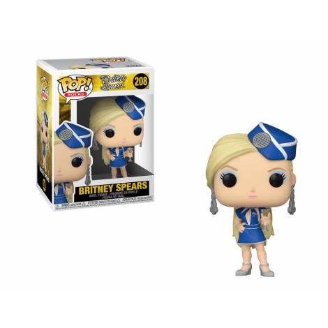 Funko POP! Rocks: Britney Spears - Stewardess #208 Vinyl Figure