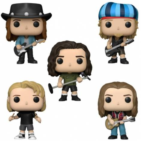 Funko POP! Rocks: Pearl Jam 5-Pack Vinyl Figures (60042)