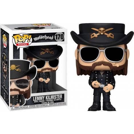 Funko POP! Rocks: Motorhead - Lemmy Kilmister #170 Vinyl Figure