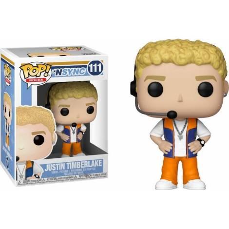 Funko POP! Rocks: NSYNC - Justin Timberlake #111 Vinyl Figure