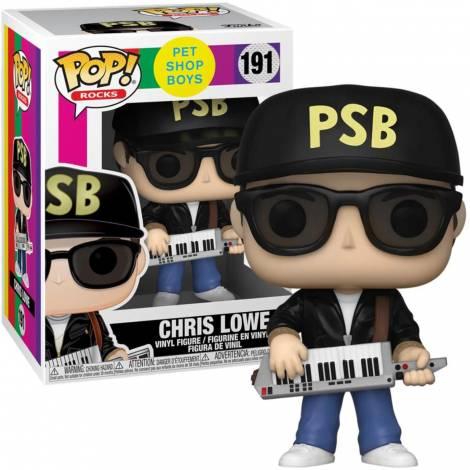 Funko POP! Rocks: Pet Shop Boys - Chris Lowe #191 Vinyl Figure