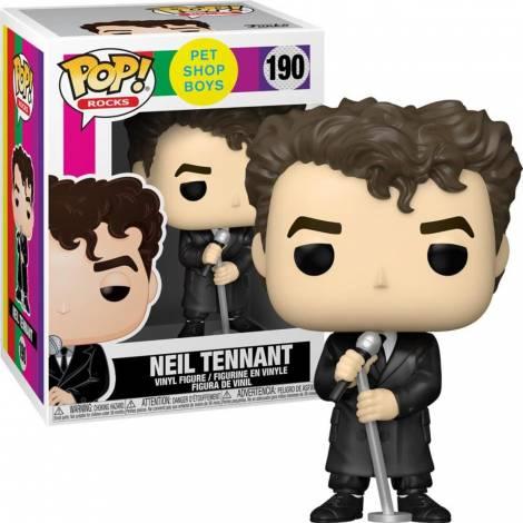 Funko POP! Rocks: Pet Shop Boys - Neil Tennant #190 Vinyl Figure