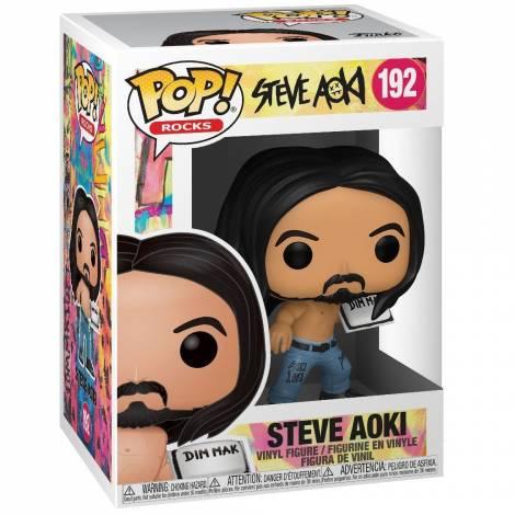 Funko POP! Rocks: Steve Aoki w/Cake Vinyl Figure  #192
