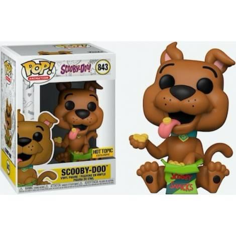 Funko POP! Animation : Scooby-Doo With Snacks (Special Edition) #843 Vinyl Figure