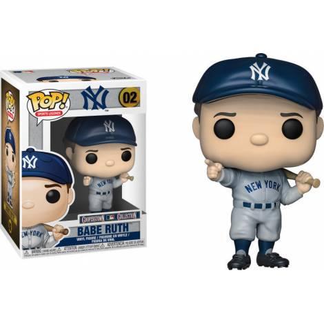 Funko Pop! Sports: mlb Babe Ruth (New York Yankees) #02 Vinyl Figure