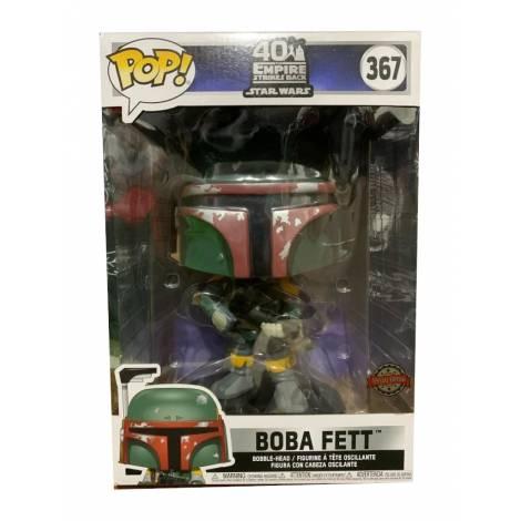 Funko POP! Star Wars: 40Years Empire Strikes Back Boba Fett (25cm) (Special Edition) #367 Bobble-Head Vinyl Figure