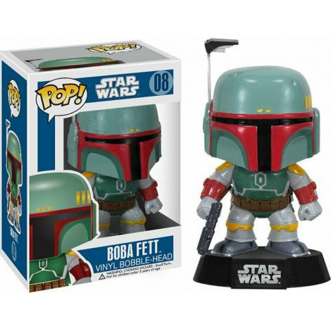 Funko POP! Star Wars - Boba Fett #08 Vinyl Bobble-Head Figure - με χτυπημένο κουτάκι