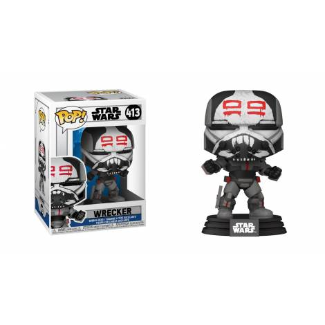 Funko POP! Star Wars: Clone Wars - Wrecker #413 Vinyl Figure
