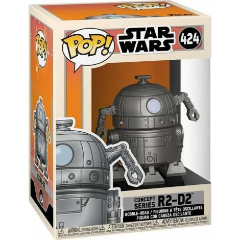 Funko POP! Star Wars : Concept Series R2-D2 #424 Bobble-Head Vinyl Figure