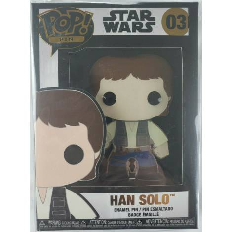 Funko POP! Star Wars : Han Solo  #03 Large Enamel Pin (STPP0003)