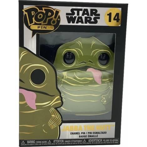 Funko POP! Star Wars - Jabba The Hutt #14 Large Enamel Pin (STPP0018)