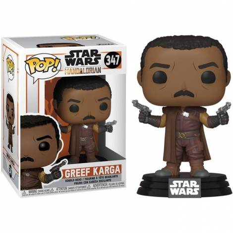 Funko POP! Star Wars: Mandalorian - Greef Karga #347 Vinyl Figure