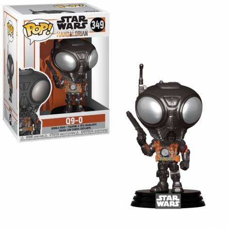 Funko POP! Star Wars: Mandalorian - Q9-Zero (MT) #349 Vinyl Figure